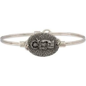 Luca and Danni St. Francis bracelet NWT silver